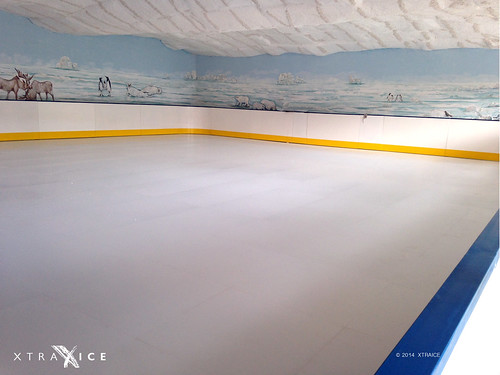 ice mobile portable skating parks fake artificial baku azerbaijan surface sheets plastic skate theme panels barriers synthetic ecological rinks xtraice