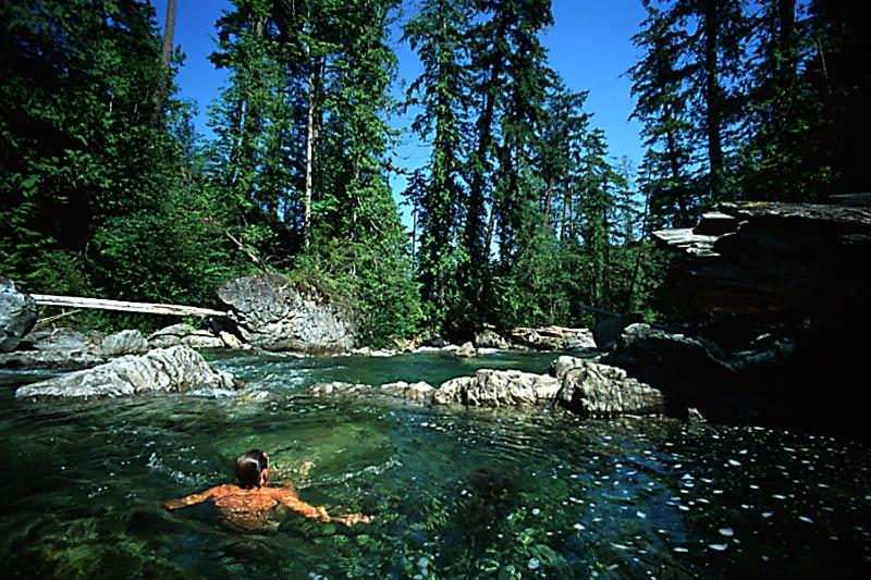 Little Qualicum Falls Provincial Park, Parksville, Vancouver Island, British Columbia, Canada