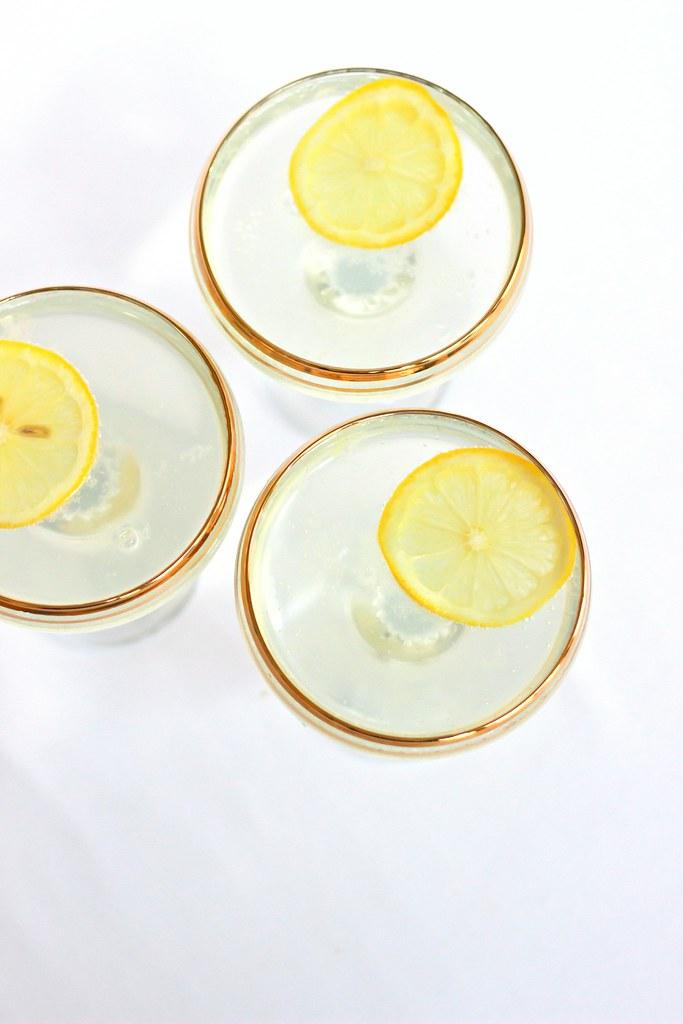 {citrus-elderflower gin fizz}