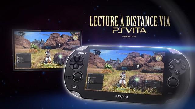 Remote Play PS Vita FF XIV