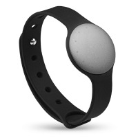 grey shine with sport band misfit wearables