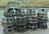 Lobster pots at Boscastle