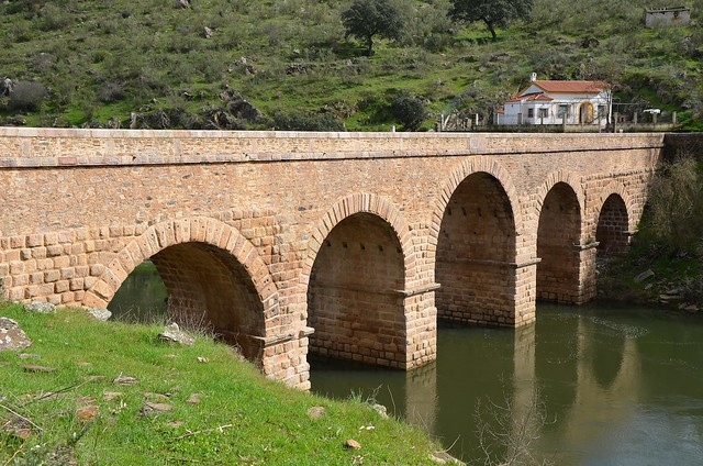 Roman bridge of Segura, built in the 2nd century under Trajan on the route that linked Mérida and Egitania, Segura, Portugal