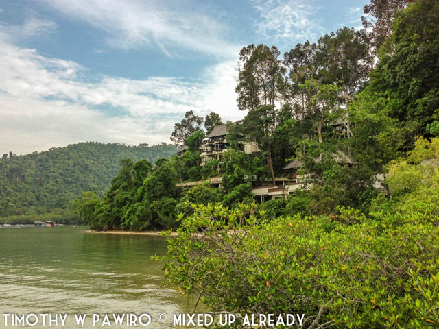Malaysia - Kinabalu - Gaya Island Resort - The villas with sea view