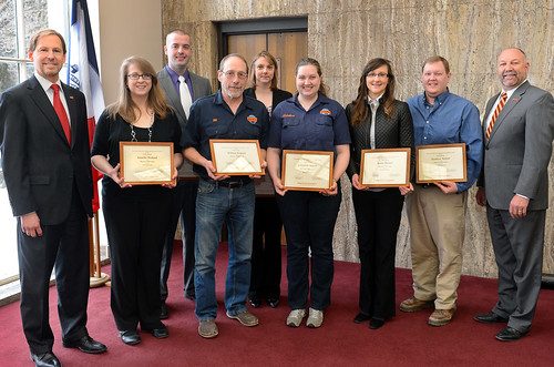 Congratulations to the Resource Hub team who received the Fall 2013 P&S Team Award!
