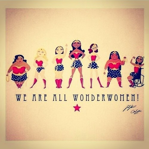 Happy international women's day! Girls u rock ♡