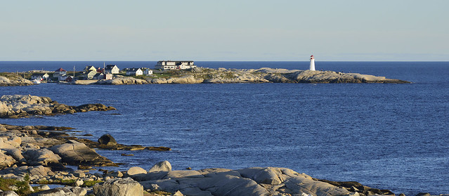 Peggy's Cove Evening Light