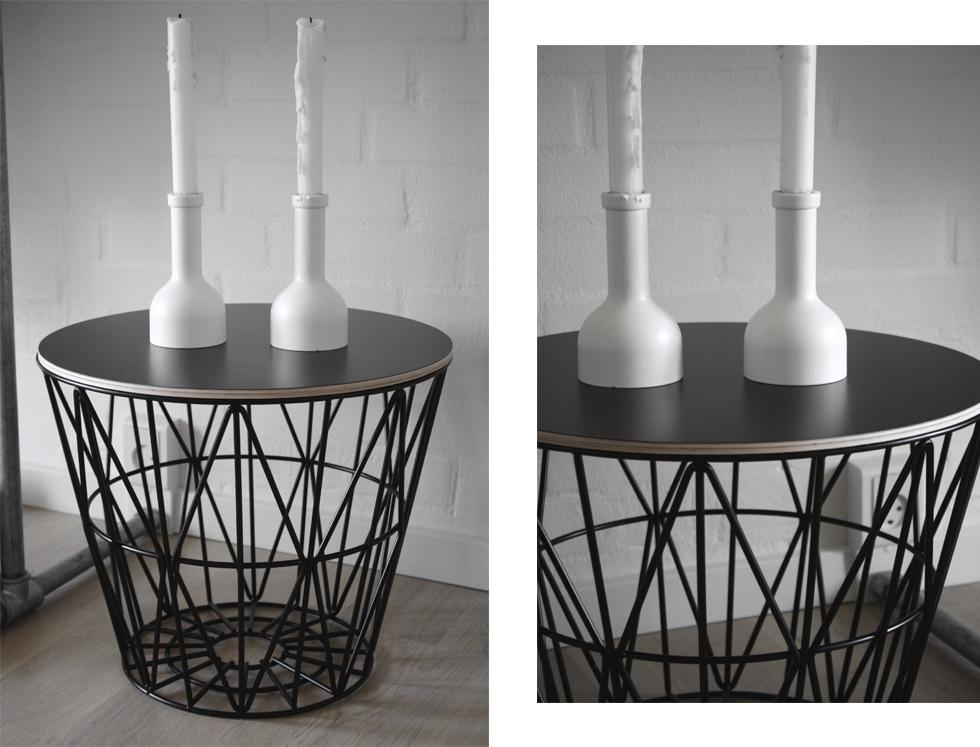 ferm living wire basket cecilie. Black Bedroom Furniture Sets. Home Design Ideas