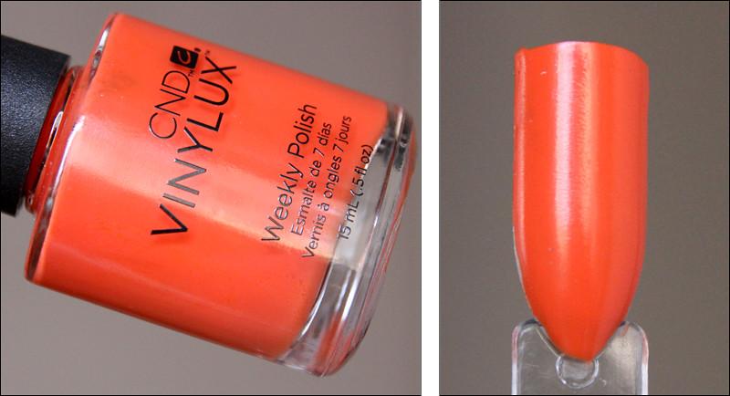 CND Electric orange swatch