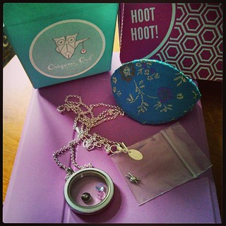 My #OrigamiOwl #livinglocket needs more charms! My order was missing the #dogpaw and the #knitting charm is defective...waiting for those. Will need to add more soon. #jewelry