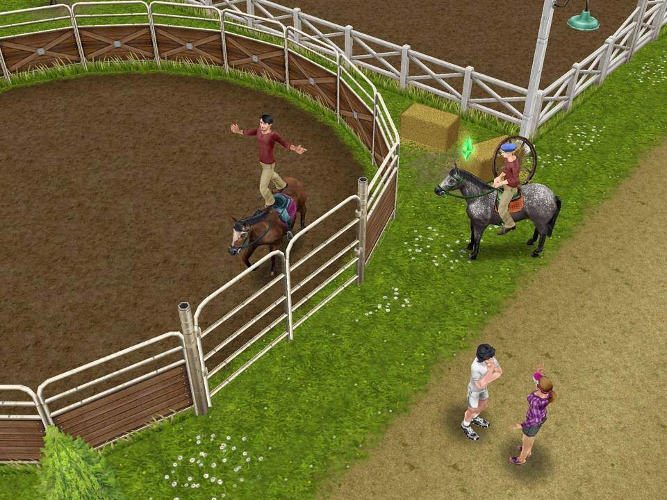 Sims FreePlay paarden horses