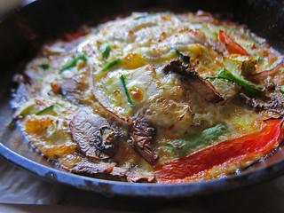 Vegetable & Chevre Frittata - Nate's Garden Grill