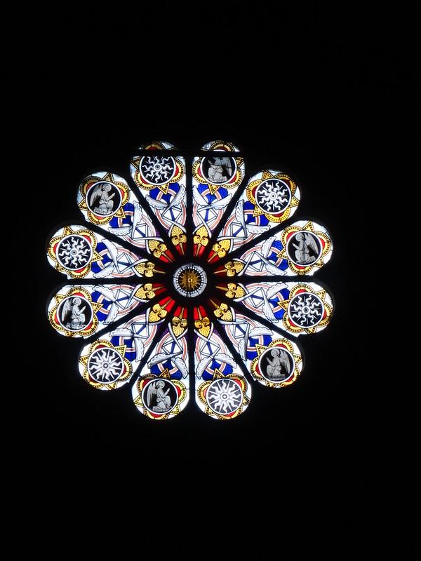 Rose window, S. Maria Sopra Minerva