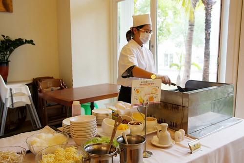 台南商務會館悠閒度假-早餐自助吧09