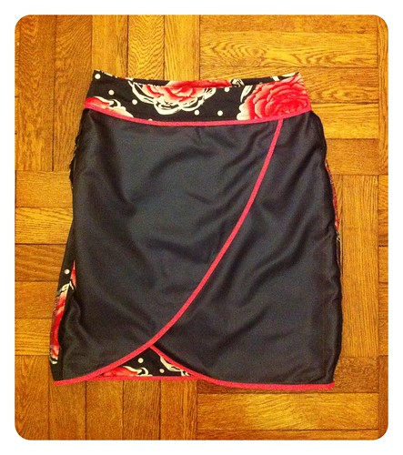 Floral Skirt inside