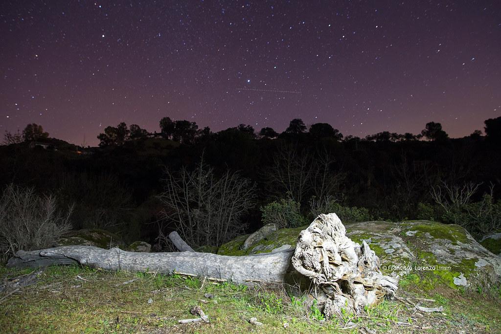 De noche en el Jándula