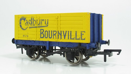 Painted Cadbury Wagon