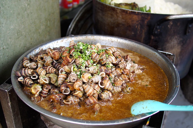 cooked snails, Ho Chi Minh City (Saigon), Vietnam