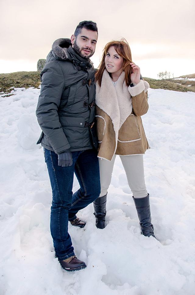 Look masculino y femenino para la nieve