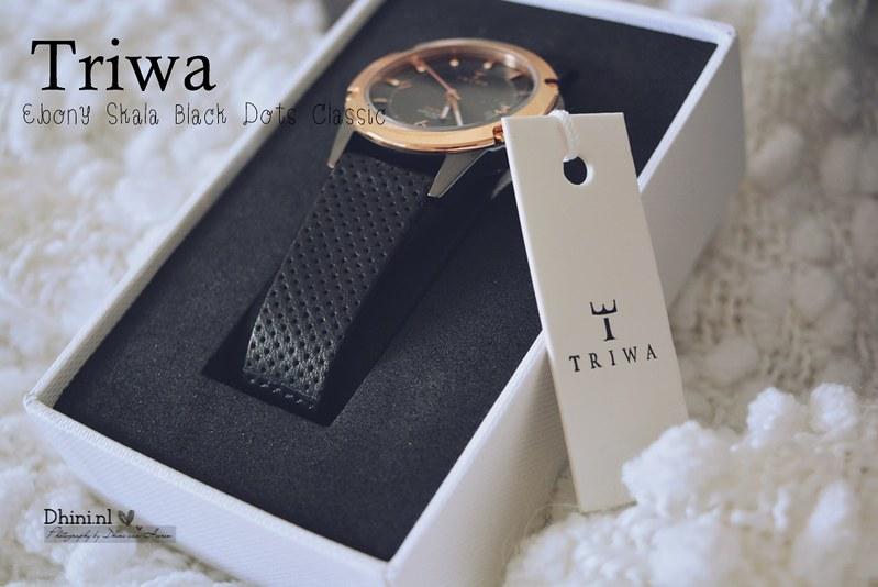 Triwa Ebony Skala Black Dots Classic