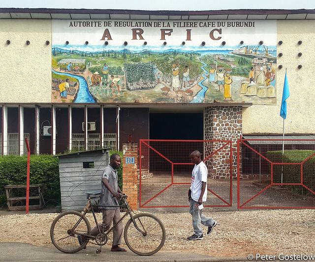 Bujumbura Coffee factory