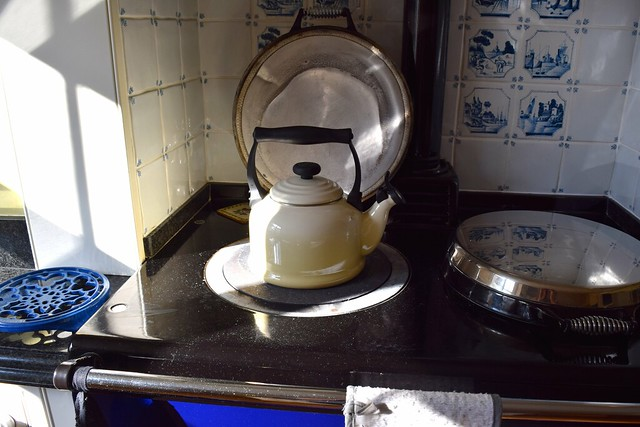 Le Creset Kettle on the AGA