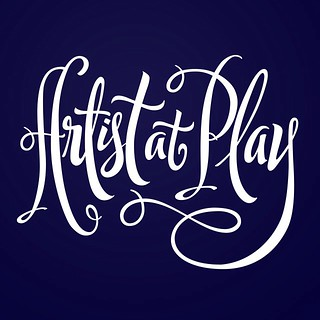 Cleaned up Artist at Play. #artistatplay #handlettering #lettering #goodtype #calligritype #typography #thedailytype #typeverything