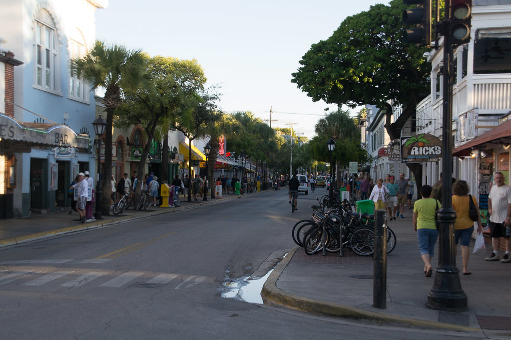 Streets in Key West