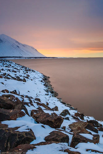 winter nature sunrise island iceland europe landscae borgarnes vesturland