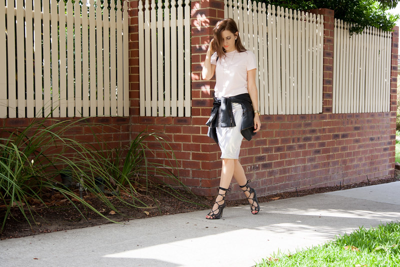 Outfit featuring Jessica Reeves for Fox Feet fashion