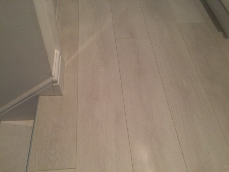 #Kronospan Laminate flooring fitted by us on a first floor
