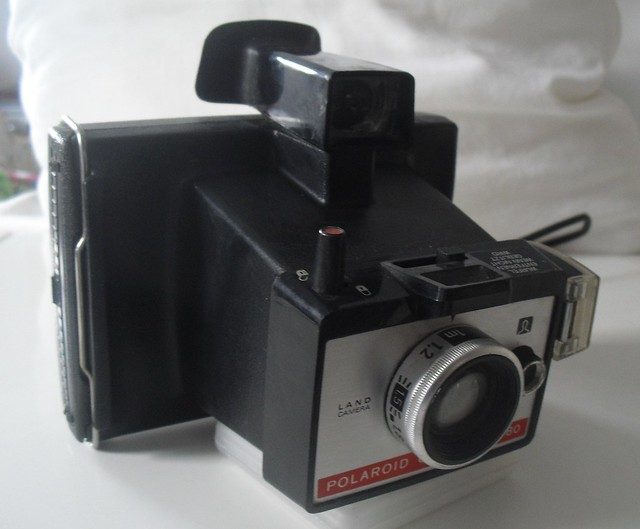 vintage camara instantanea polaroid colorpack 80 instant camera ebay. Black Bedroom Furniture Sets. Home Design Ideas