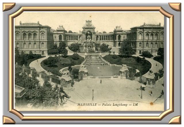 MARSEILLE - Palais Longchamp - LM