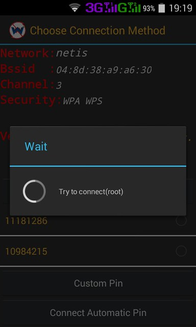 Trying To Connect Wifi