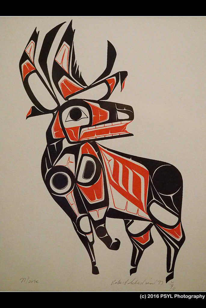 Moose (screen printing) by Gerald Marks