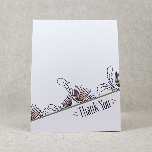 Splits Thank You Card