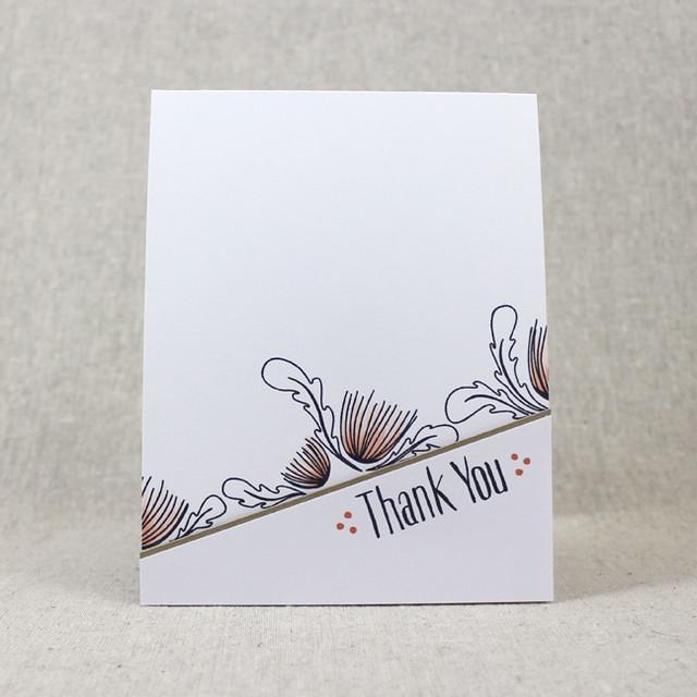 Splits Thank You Card