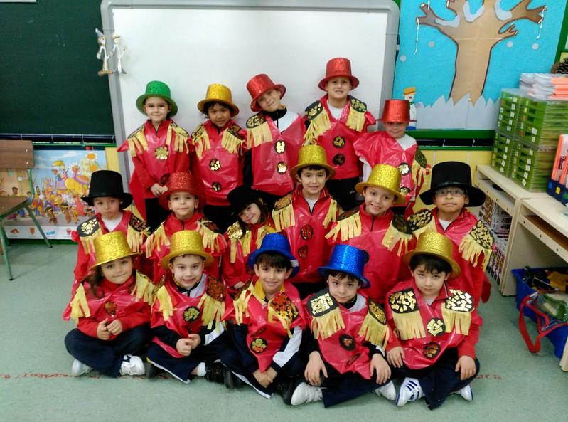Infantil. Desfile de Carnaval