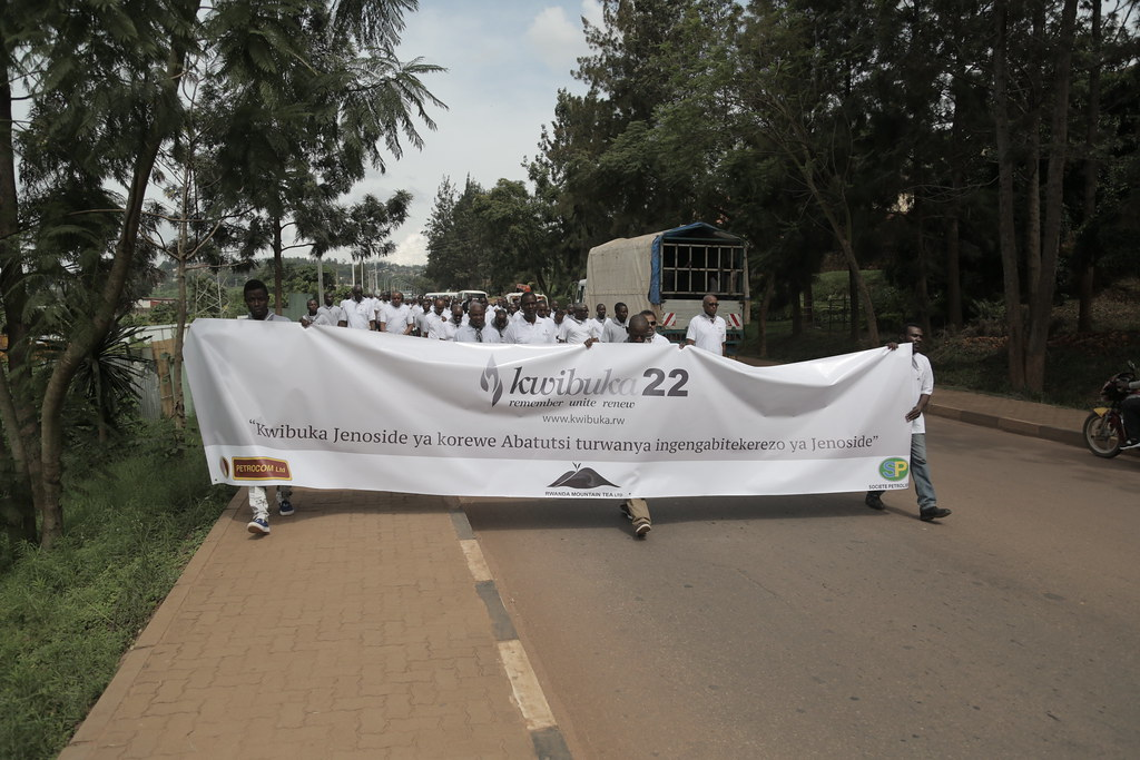 Petrocom, SP, Rwanda Mountain Tea,Tea investment Group Kwibuka Event at Kigali Genocide Memorial