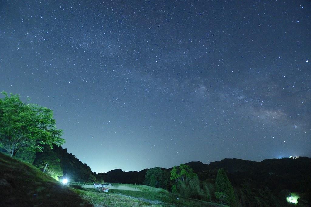 ISO4000で撮影した天の川