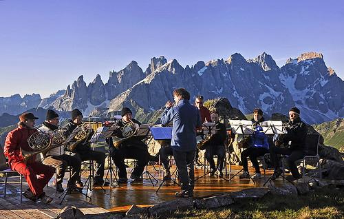 Festival Tóny Dolomit aneb Hudba mezi horskými vrcholy