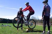 Lady's Camp, Fahrtechniktraining mit dem Mountainbike. Foto: Günther Härter.