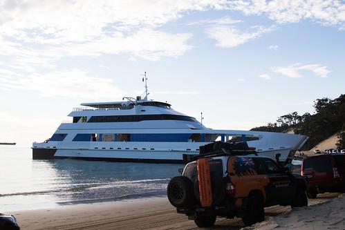 Micat Ferry, Moreton Island
