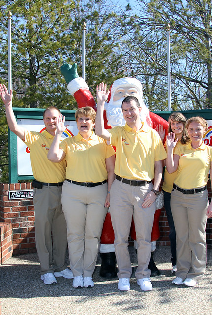 Five grads from ISU are part of Holiday World's management team