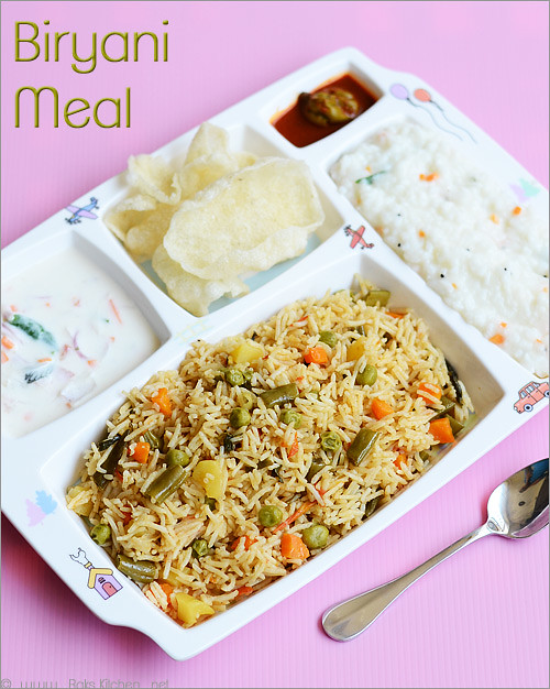 Biryani-curd-rice-raita
