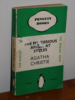 Agatha Christie in Penguin books