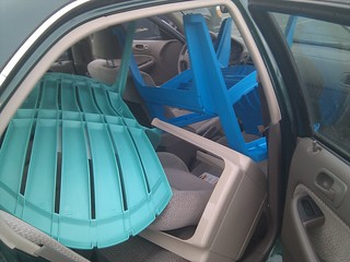 Chairs in cars