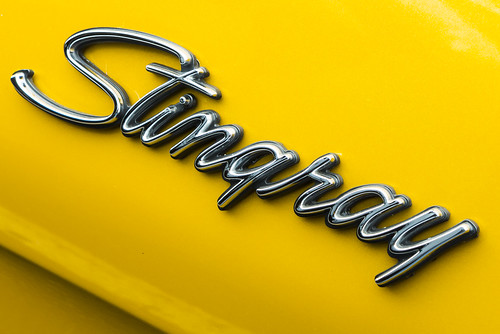 Stingray on chrome yellow