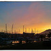 Hendaye winter sunset