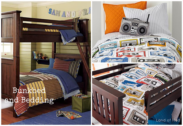 Land of Nod Bedroom Furniture and Bedding